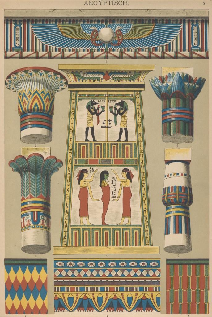 02-Egyptian Ornamentenschatz Hoffmann verlag scan