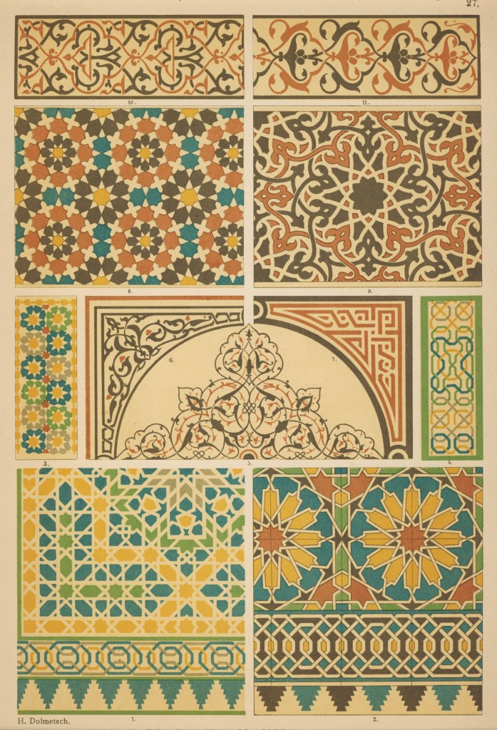 27-Arabisch-maurisch Ornamenschatz Hoffmann verlag