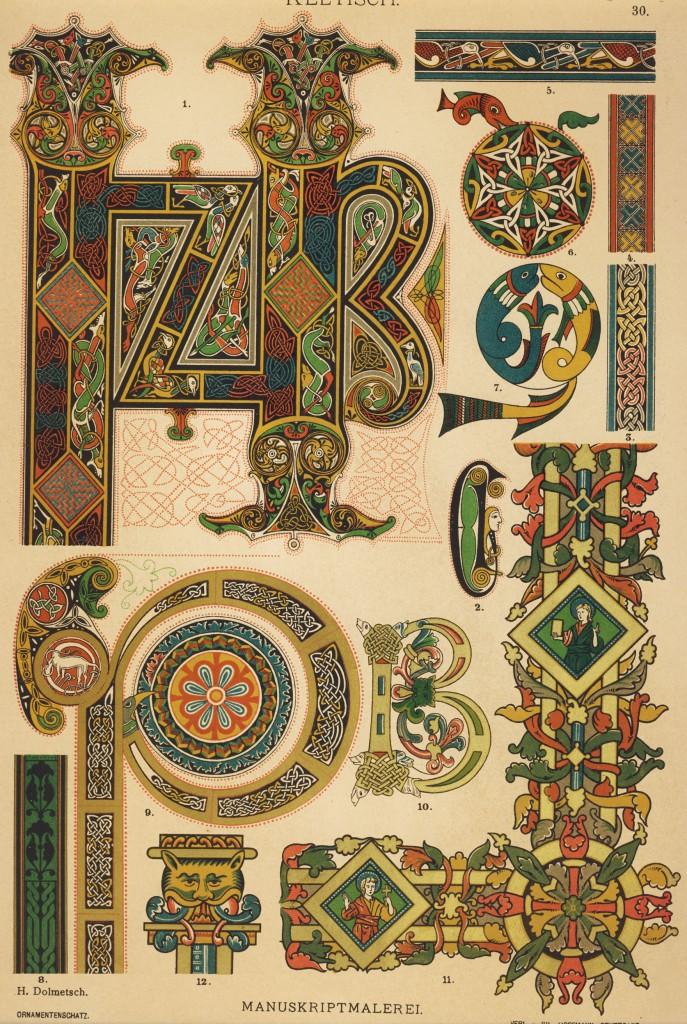 30-Keltisch Hoffmann verlag Ornamenschatz